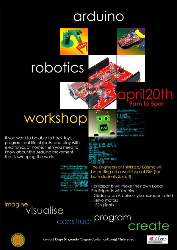 arduino workshop_poster