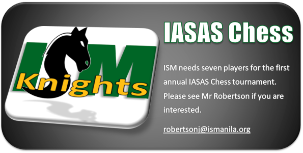 IASAS Chess Ad